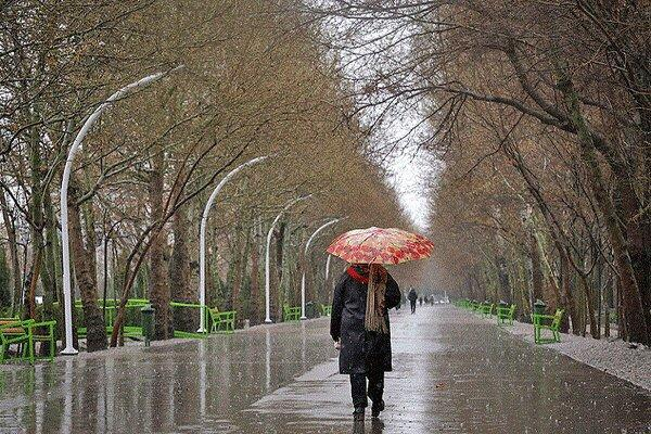 فعالیت سامانه بارشی در کدام مناطق ایران ادامه دارد