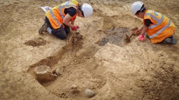 کشف جنگجوی عصر آهن در بریتانیا
