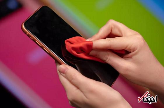 برای مبارزه با کرونا حداقل 2 بار در روز تلفن همراهتان را تمیز کنید