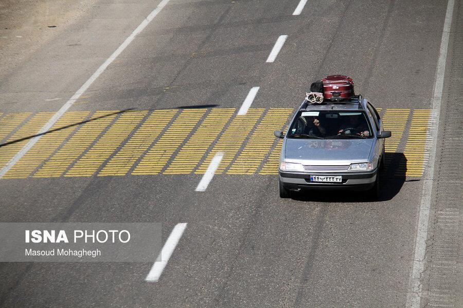اینفوگرافیک ، شرایط ممنوعیت و محدودیت سفر به استان ها