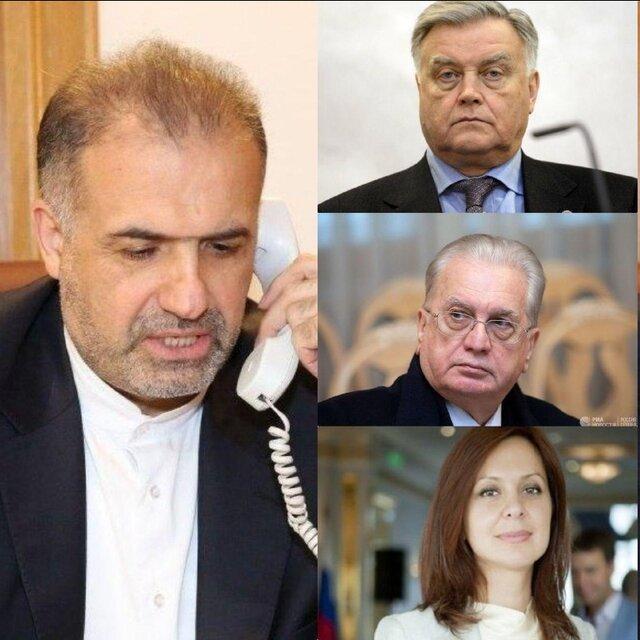 اعلام همبستگی شخصیت های فرهنگی روسیه با مردم ایران و مخالفت با تحریم های آمریکا