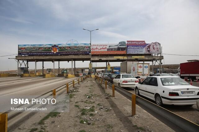 توقیف 27 خودرو و 213 مورد جریمه در ورودی های مشهد