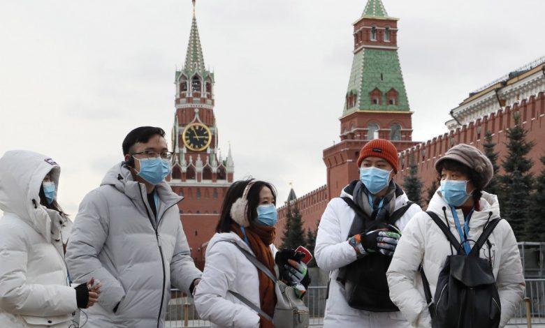 روسیه از نظر ابتلای روزانه به کرونا رکورد زد