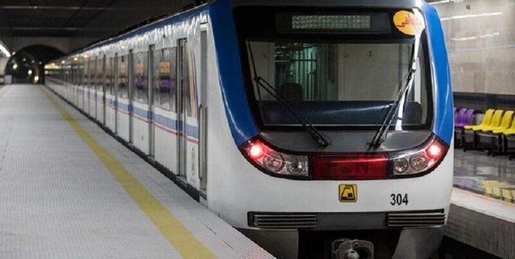 شرایط تهویه برخی خطوط مترو بهبود می یابد