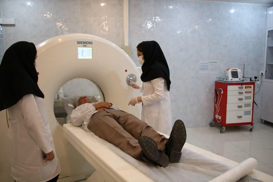 شروع کار بخش سی تی اسکن، دانسیتومتری و ماموگرافی بیمارستان امام سجاد(ع) تبریز