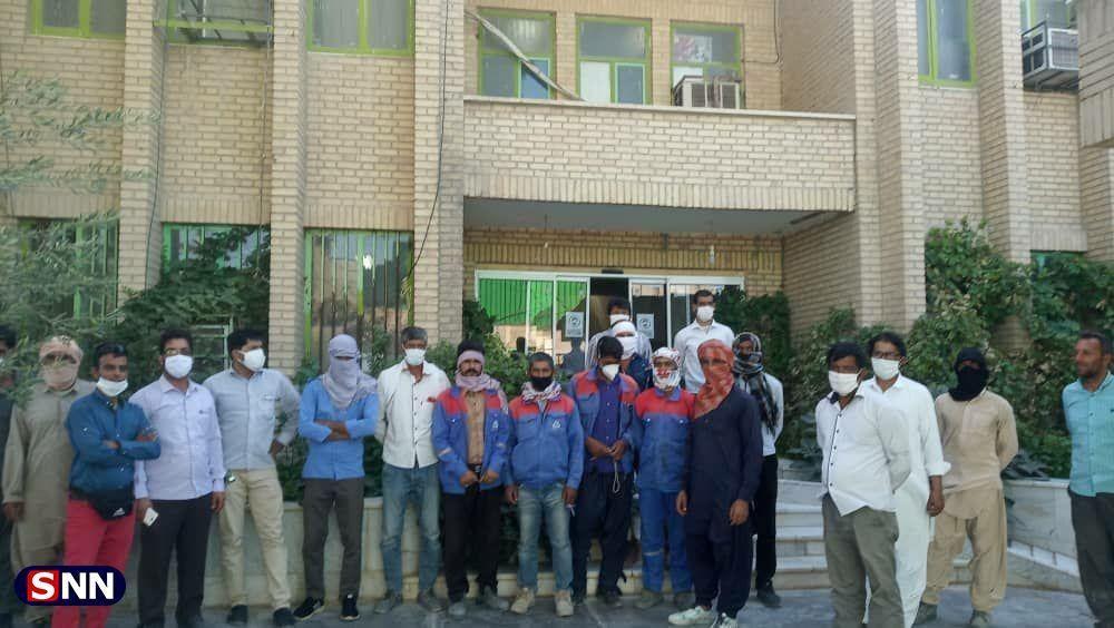 حقوق کارگران چکاد جنوب در حال پرداخت است