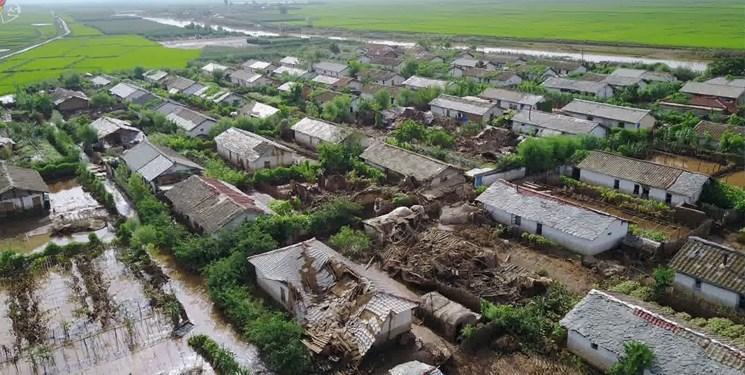 22 کشته و 4 مفقود به دنبال جاری شدن سیل در کره شمالی
