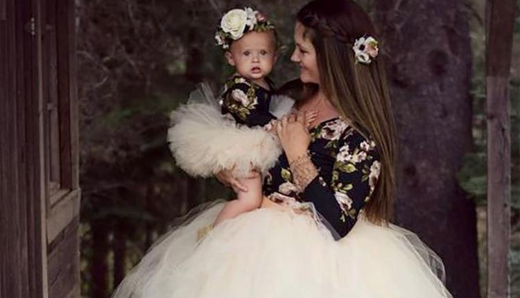 33 مدل لباس مجلسی ست مادر و دختر جذاب و متفاوت