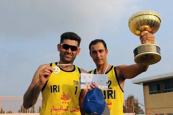 قهرمان تور ملی والیبال ساحلی بندرترکمن تعیین شد