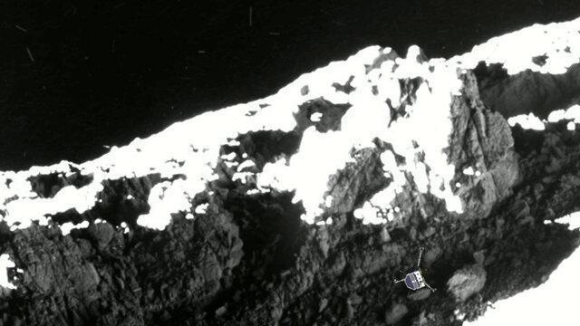 دومین محل تماس کاوشگر فیله کشف شد
