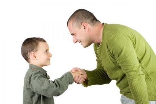 فرزندان خود را به رفتار خوب عادت دهیم