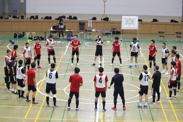 شکست تیم ملی فوتسال ژاپن مقابل تیم باشگاهی