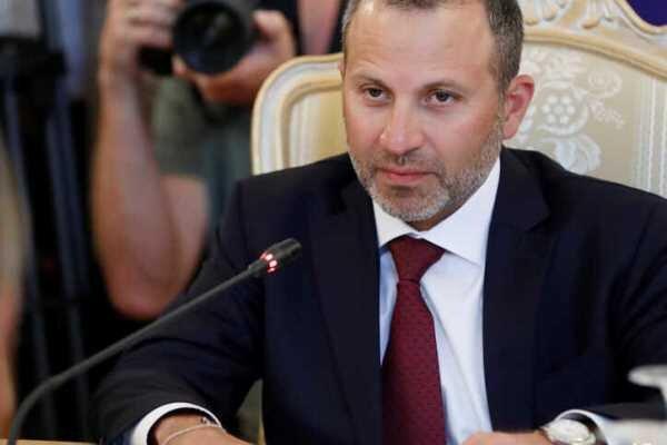 تحریم های آمریکا علیه جبران باسیلمداخله آشکار در امور لبنان است