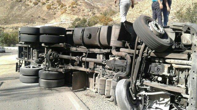 واژگونی هوو در گردنه اسدآباد
