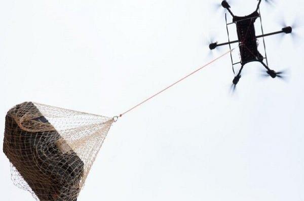 پهپاد کوچک تاشو 450 کیلوگرم بار حمل میکند