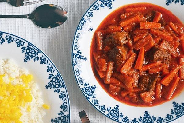 طرز تهیه خورشت هویج