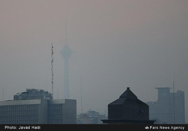 هوای کدام مناطق تهران آلودگی بیشتری دارد؟