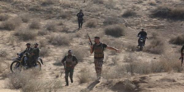 الحشد الشعبی 5 مخفیگاه داعش را منهدم کرد