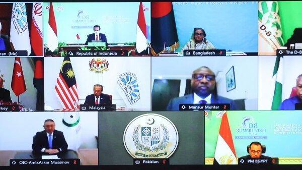 بیانیه پایانی اجلاس کشورهای عضو دی 8