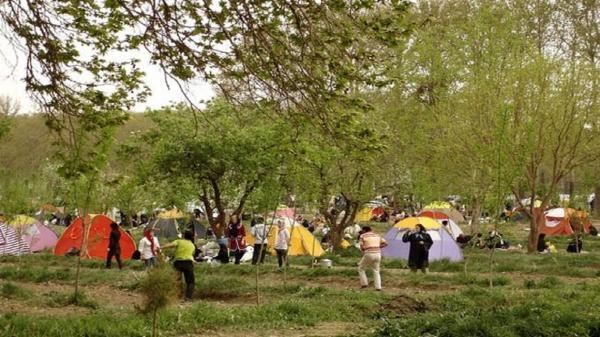 تعطیلی پارک ها و تفرجگاه های کاشان در 13 فروردین