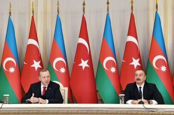 گفتگوی علی اف و اردوغان پس از تصمیم بایدن