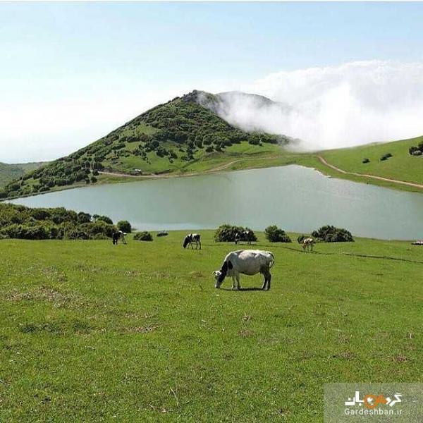 دریاچه زیبای سو ها در اردبیل، عکس