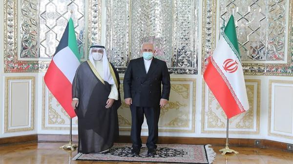 دیدار وزیر خارجه کویت با ظریف